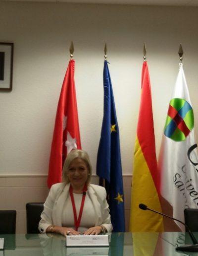 """Conferenciando sobre """"Arbitraje y Empresa Familiar"""" en el Congreso Internacional de Mediación """" en la sede del CEU San Pablo. (Madrid, octubre 2017)"""