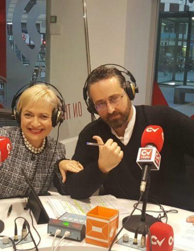 """En uno de los múltiples programas de radio en """"Despierta Valencia"""" de CV radio   con  Josep Forés hablando sobre Protocolos Familiares y Empresa Familiar. Una gran experiencia. (Valencia 2017)"""